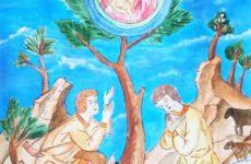 Конкурс детских рисунков «Владычица Белой Руси» прошел среди учащихся учреждений образования Кировского района