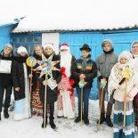 Праздничный утренник и колядки в воскресной школе Кировска