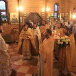 Божественная Литургия в день памяти праведного Филарета Милостивого