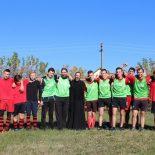 Прошел футбольный матч приходских футбольных молодежных команд