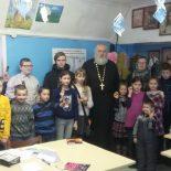 В воскресной школе Покровского прихода г. Кировска состоялась итоговая игра по пройденному разделу учебной программы