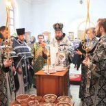 В пятницу 1-й седмицы Великого поста епископ Серафим совершил Литургию Преждеосвященных Даров в Иверском храме Бобруйска