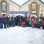 Николо-Софийский храм посетил творческий коллектив учащихся школ и колледжей г. Солигорска «Театральный Огонёк»