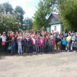 учащиеся Воскресной школы «Иверон» посетили церковь святых Космы и Дамиана в д. Городок