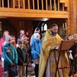 С общей молитвы начались занятия в Воскресной школе прихода храма иконы Божией Матери «Целительница» г. Бобруйска