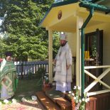 В агрогородке Грудиновка состоялось освящение новой часовни