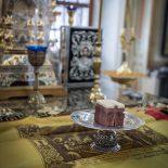 Епископ Серафим совершил первую в Великом посту литургию Преждеосвященных Даров