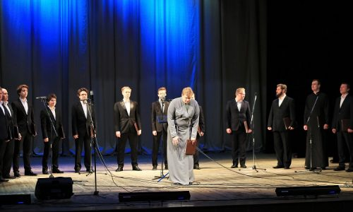 В Бобруйске состоялся концерт мужского хора «Всехсвятский»