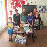 Собранные в ходе благотворительной акции школьные принадлежности переданы социальным учреждениям города