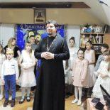 Рождественский утренник в воскресной школе Никольского собора