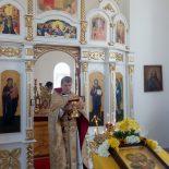 Престольный праздник храма в Бацевичах