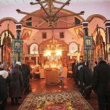 Архиерейская Божественная литургия в день престольного праздника Космо-Дамиановского храма с. Городок