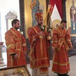 Божественная литургия в день отдания праздника Пасхи