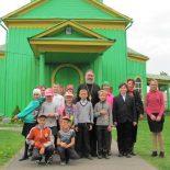 Посещение храма Святой Живоначальной Троицы в Быхове
