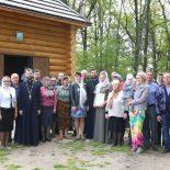 В деревне Вороновичи Бобруйского района был освящен кладбищенский храм