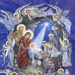 На пороге — ночь святая Рождества: прихожане Кировского Покровского храма делятся семейными традициями встречи Рождества