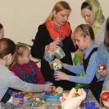Учащиеся воскресной школы Николо-Софийского храма и прихожане молились вместе за Великой Вечерней