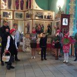 Воспитанники воскресной школы Введенского храма г. Осиповичи приготовили для прихожан Пасхальный утренник