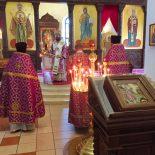 Епископ Серафим совершил Божественную литургию в день памяти Усекновения главы Крестителя Господня Иоанна