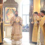 Божественная литургия в день празднества собора Белорусских святых
