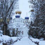 Воскресная Божественная литургия в Никольском кафедральном соборе Бобруйска