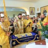 Архиерейская Божественная литургия в Неделю о Страшном суде