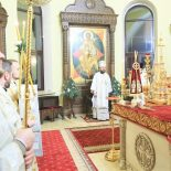 В праздник Рождества Христова епископ Серафим совершил Божественную литургию в Никольском кафедральном соборе Бобруйска