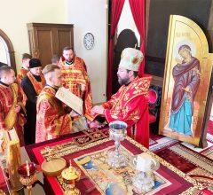 Епископ Серафим совершил Божественную литургию и диаконскую хиротонию в Никольском кафедральном соборе