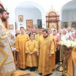 Архиерейское Богослужение в Сретенском храме г. Бобруйска