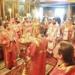Архиерейская Божественная литургия в день памяти святого великомученика Димитрия Солунского