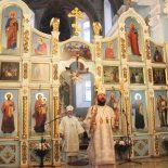 Епископ Серафим принял участие в торжествах, посвященных престольному празднику главного храма Туровской епархии