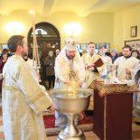 В Крещенский сочельник епископ Серафим совершил Божественную литургию и возглавил чин Великого освящения воды в Никольском кафедральном соборе