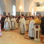 Епископ Серафим совершил Божественную литургию в Лазареву субботу