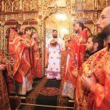 В день престольного праздника епископ Серафим совершил Божественную литургию в Николо-Софийском храме Бобруйска