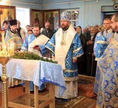 Престольный праздник Покровского храма города Кировска