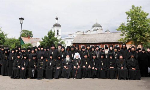 Делегация Бобруйской епархии приняла участие в монашеской конференции «Организация внутренней жизни монастырей»