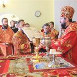 В Неделю жен-мироносиц епископ Серафим возглавил Божественную литургию и совершил диаконскую хиротонию
