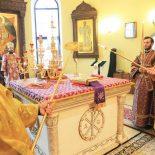 В Неделю Торжества Православия епископ Серафим совершил Божественную литургию в Никольском кафедральном соборе