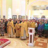 Воскресная Божественная литургия в Неделю 17-ю по Пятидесятнице