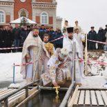 Праздник Крещения Господня в Богоявленском храме Глуска