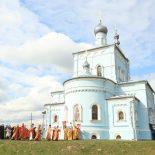 Престольный праздник отмечает сегодня Иверский храм Бобруйска