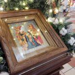В Крещенский сочельник епископ Серафим совершил Божественную литургию и Великое освящение воды в Никольском кафедральном соборе