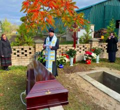 Епископ Серафим совершил отпевание новопреставленной игумении Раисы