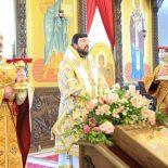 Архиерейская Божественная литургия в Неделю мясопустную, о Страшном суде