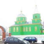 Епископ Серафим возглавил праздничную Божественную литургию в Троицком храме деревни Турки