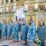 Преосвященнейший Серафим,епископ Бобруйский и Быховский, принял участие в торжествах, посвящённых Сукневичской иконе Божией Матери