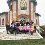 Воспитанники воскресной школы Ильинского храмаг. Бобруйска совершили паломничество в Никольский храмд. Свислочь
