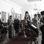 Епископ Серафим совершил чтение Великого покаянного канона преп. Андрея Критского в Духовском храме Бобруйска