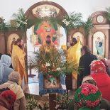 В Неделю 16-ю по Пятидесятнице епископ Серафим совершил Божественную литургию в с. Корытное
