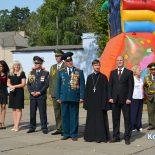 Секретарь Бобруйской епархии поздравил ветеранов с Днем танкиста